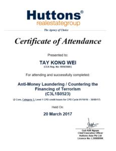 AntiMoneyLaunderingCounteringthefinancingofterroism