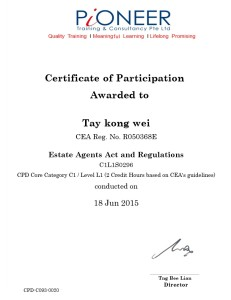 Estate Agents Act and Regulation