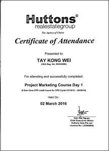 Project Marketing Course Day 1