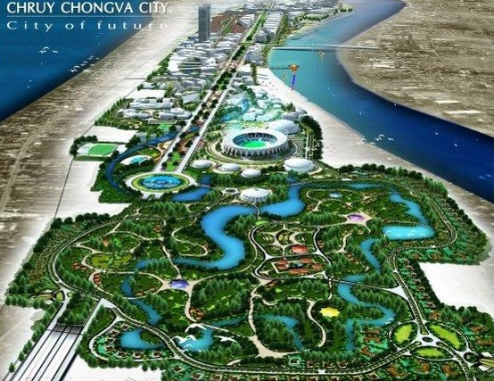 Cambodia Chroy Changvar City
