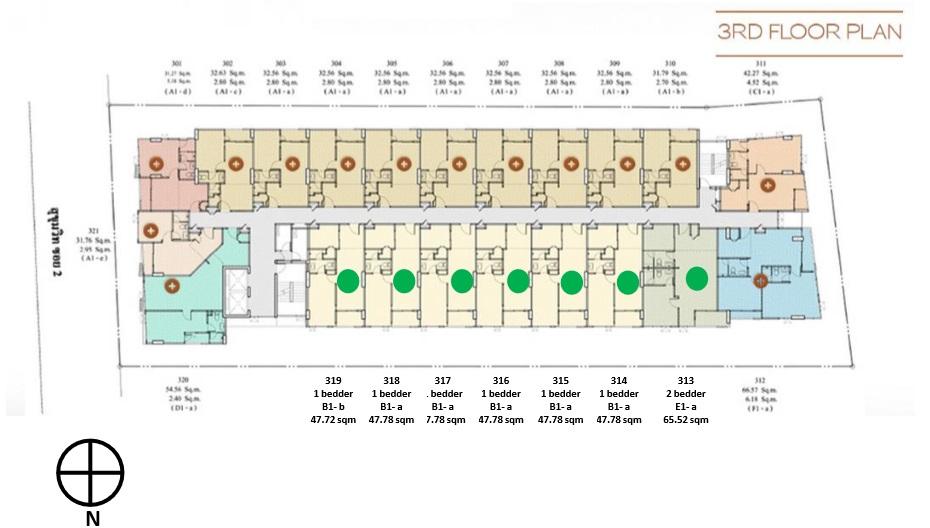 Siteplan - Level 3