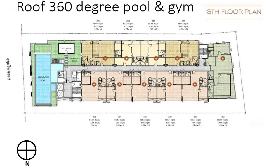 Siteplan - Level 8 - Facilities Deck