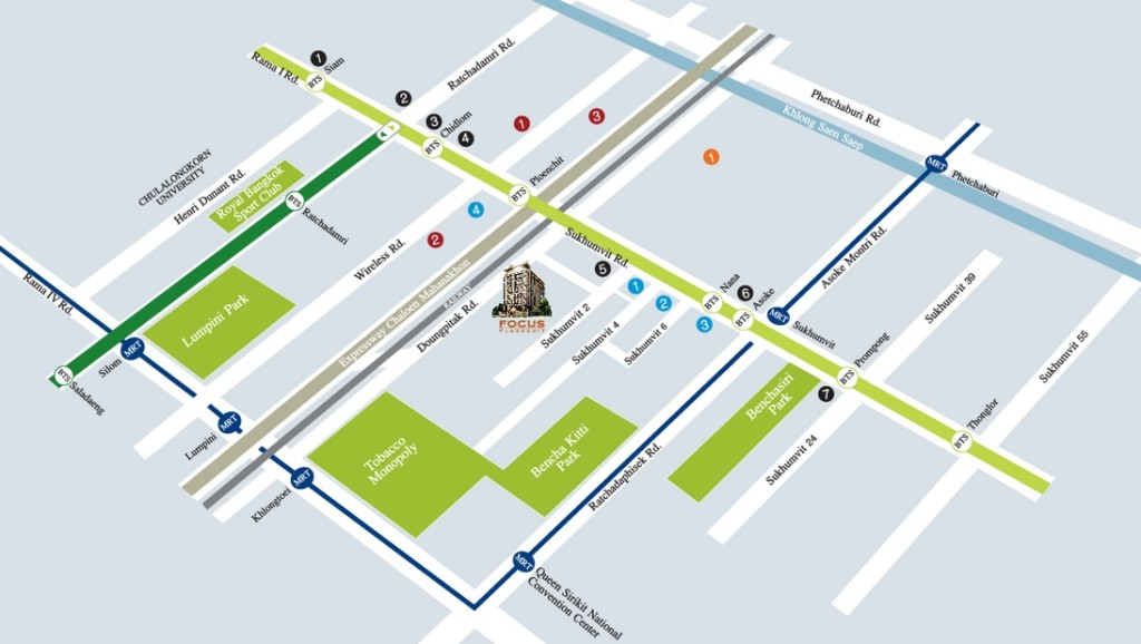 Focus_Ploenchit_Bangkok_Propertyfactsheet_Location
