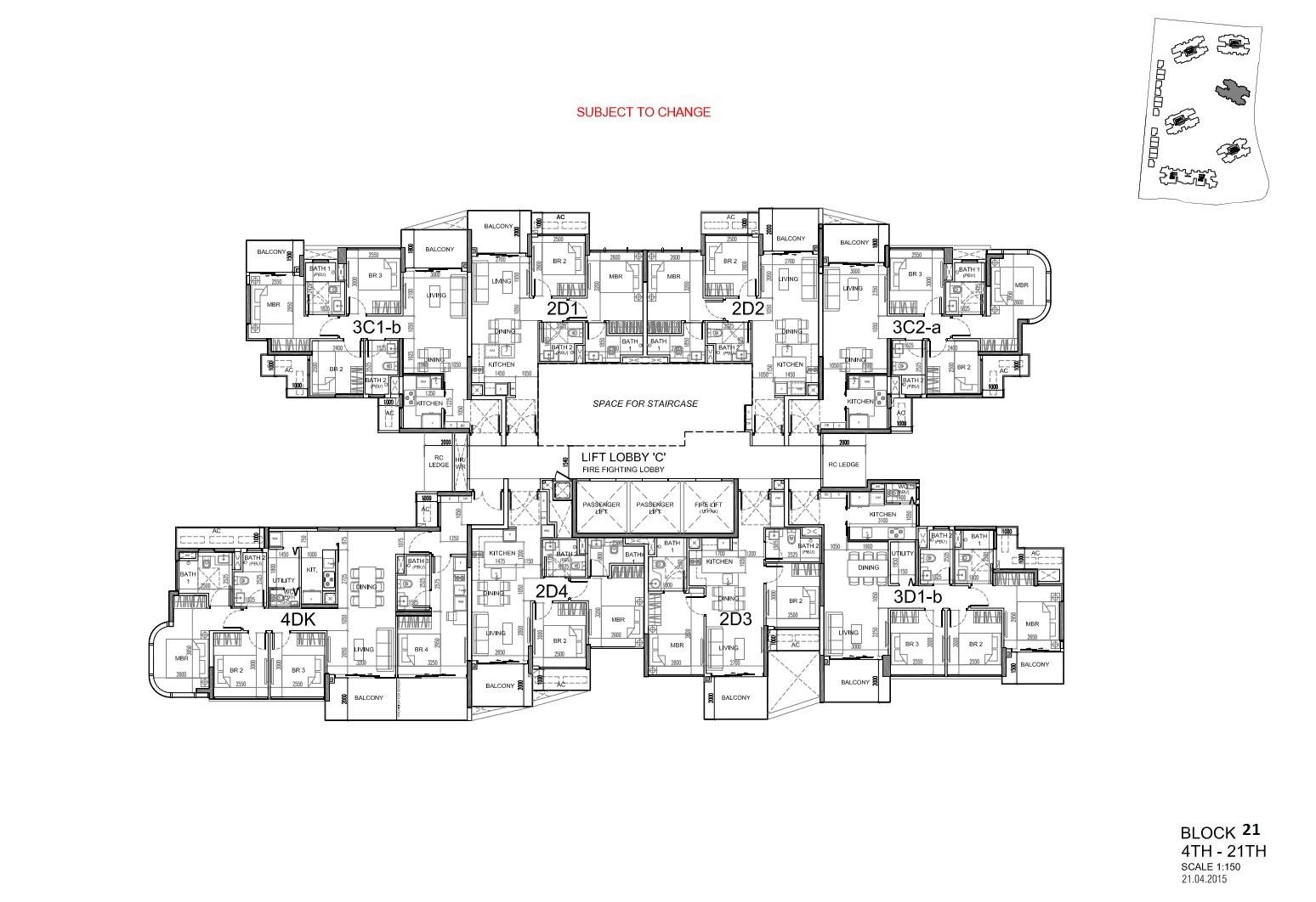 Site Plan Block 21