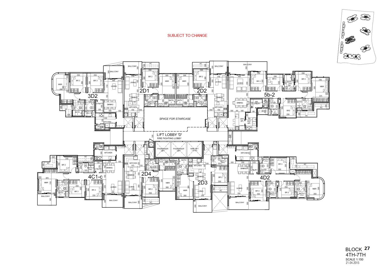 Site Plan Block 27