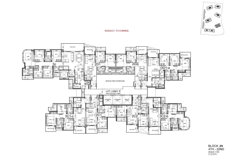 Site Plan Block 29