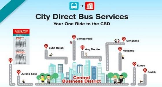 City Direct Bus Service