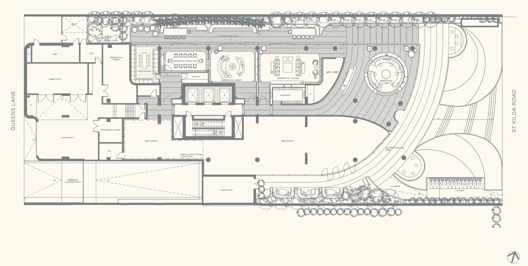 Floor Plate Master Plan