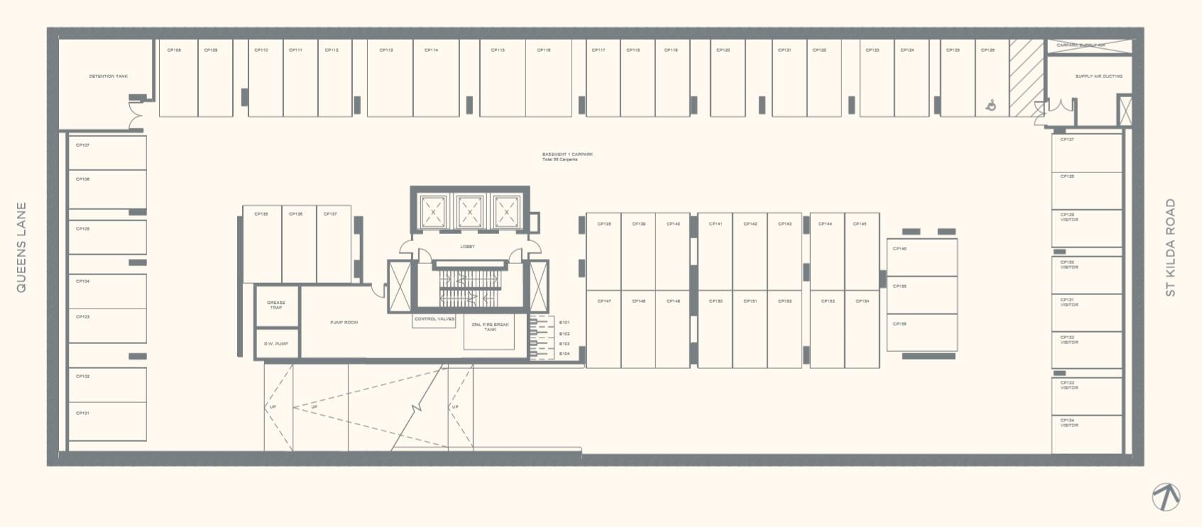 Floor Plate Basement 01