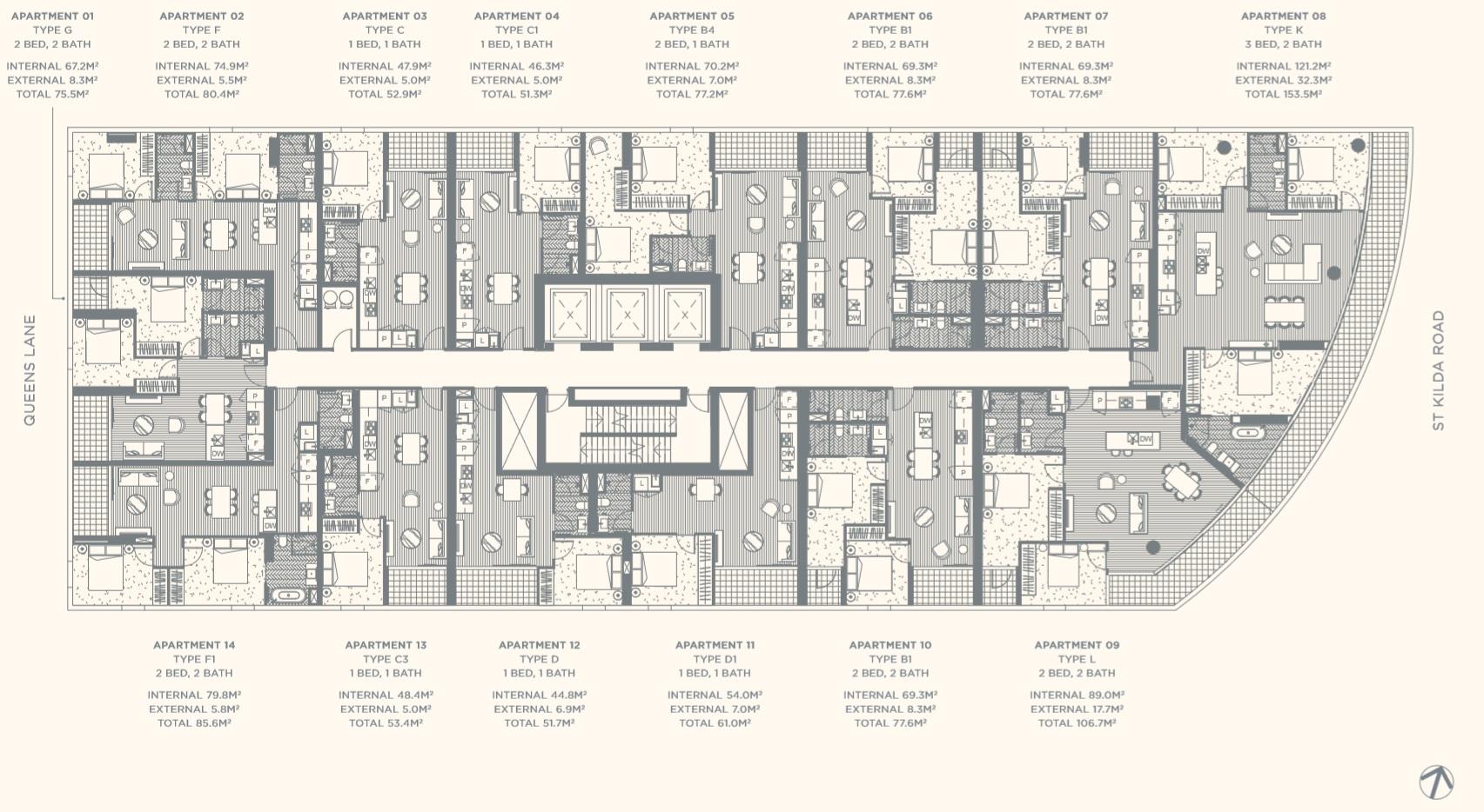 Floor Plate Level 10