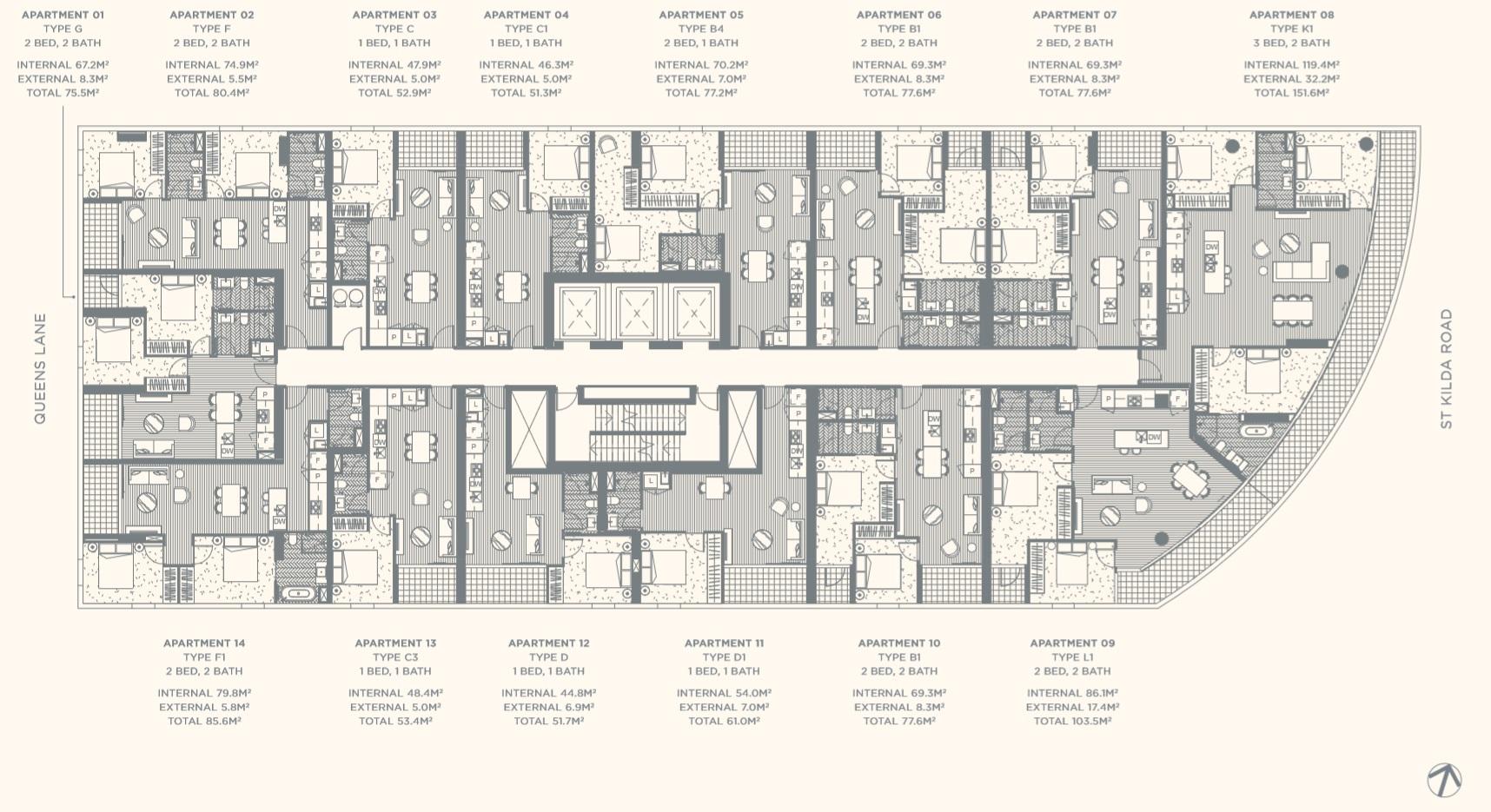 Floor Plate Level 11