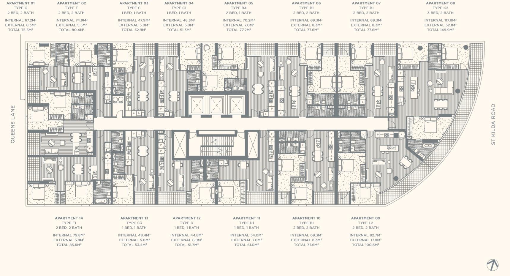 Floor Plate Level 12