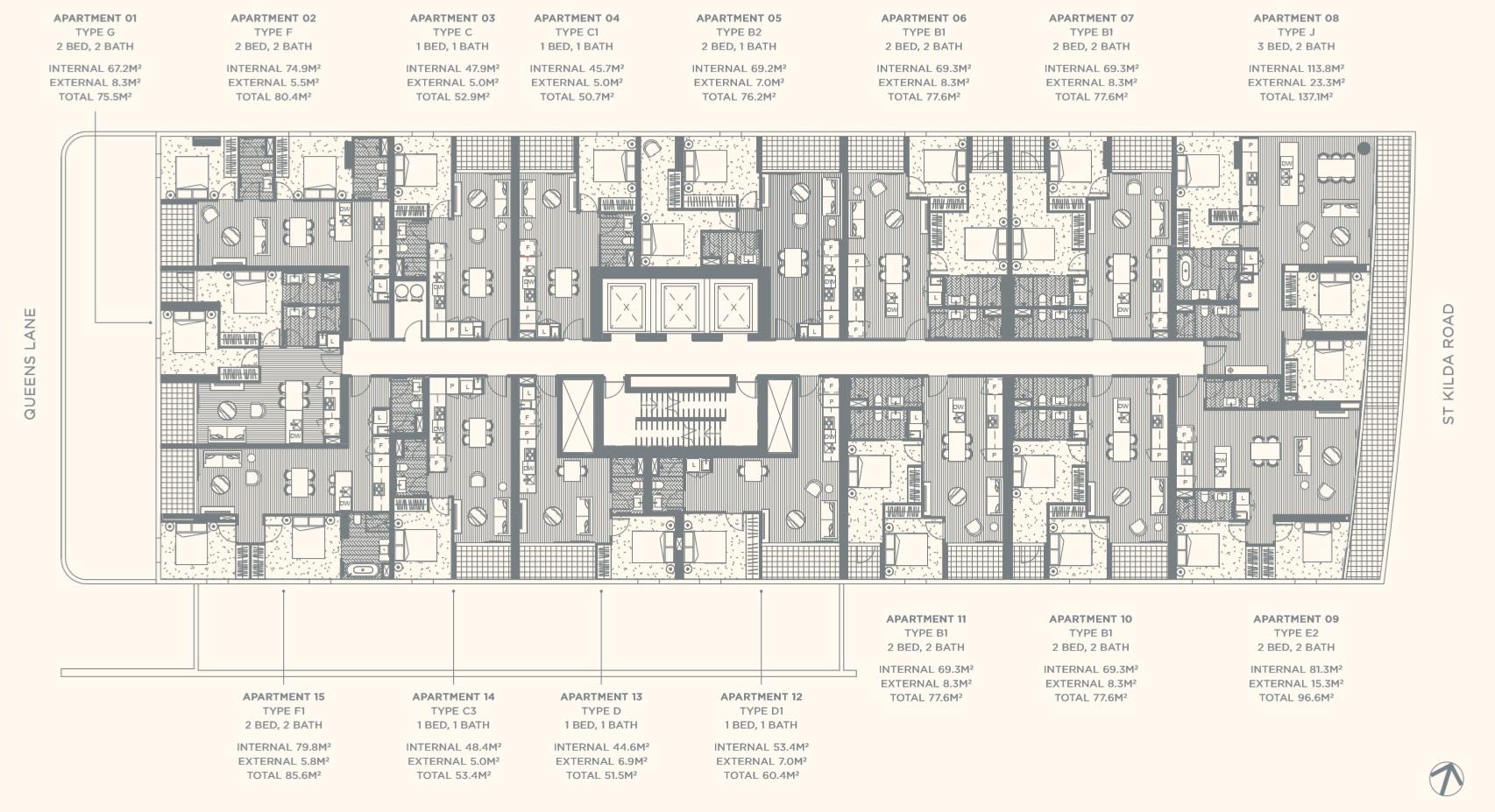 Floor Plate Level 02