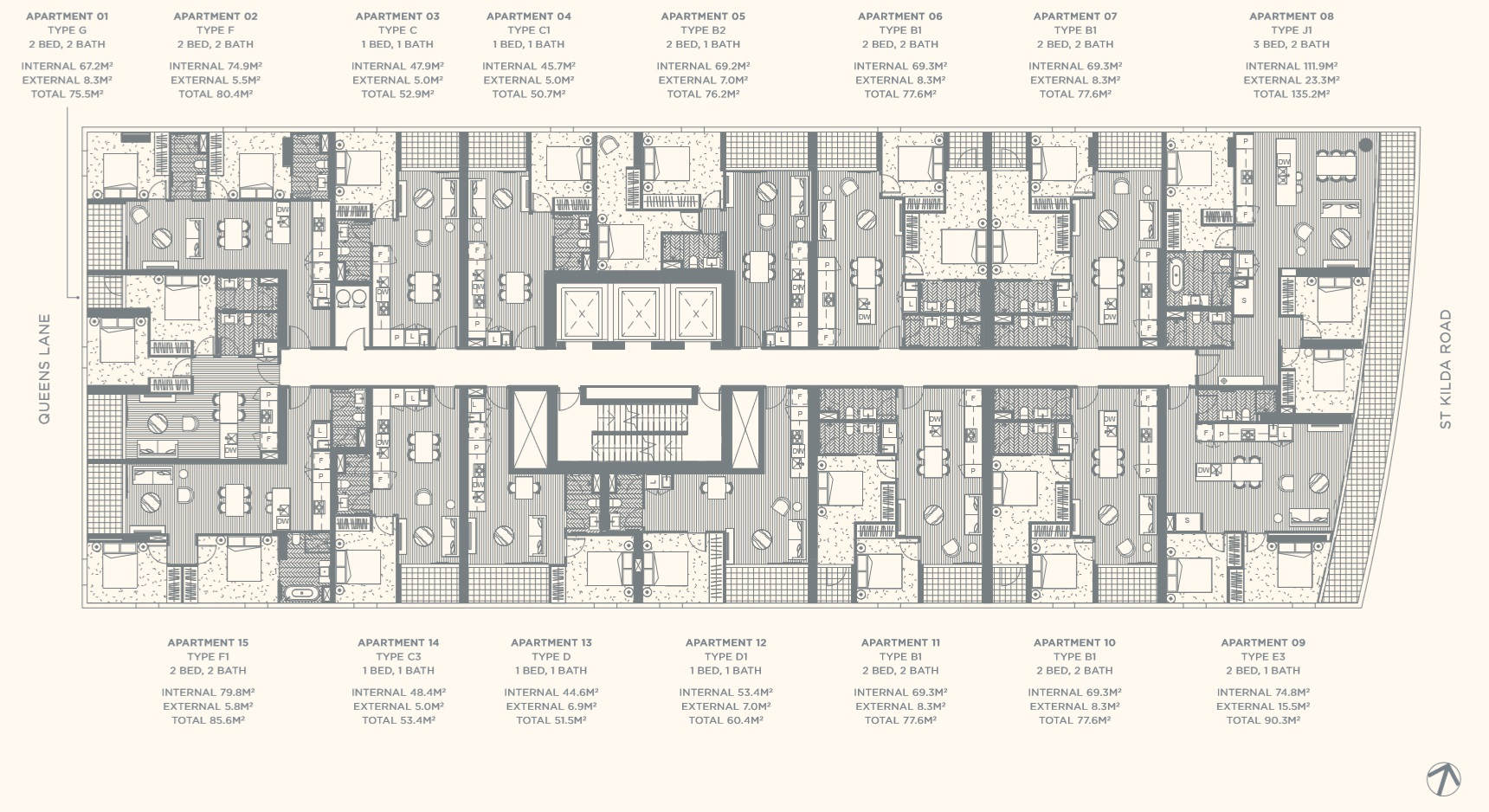 Floor Plate Level 03