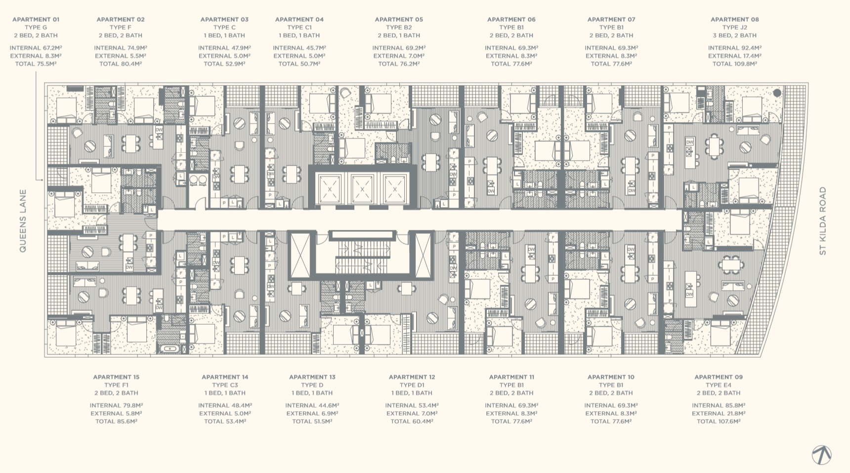 Floor Plate Level 04