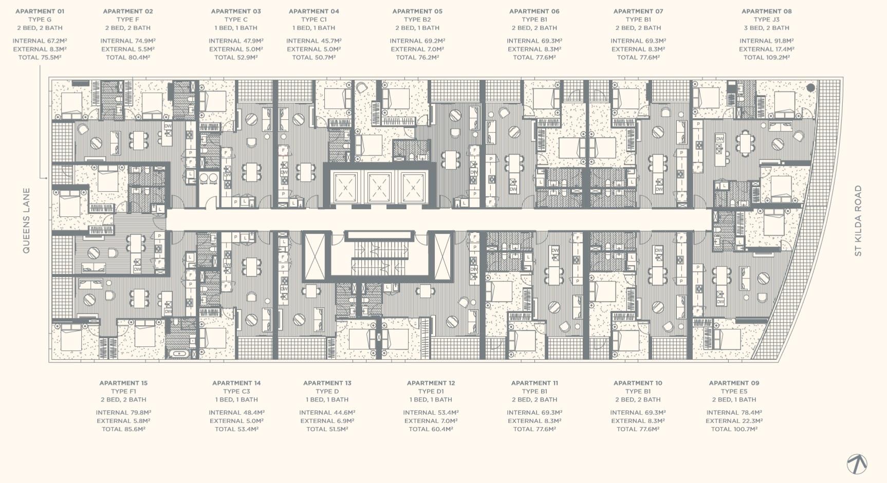 Floor Plate Level 05