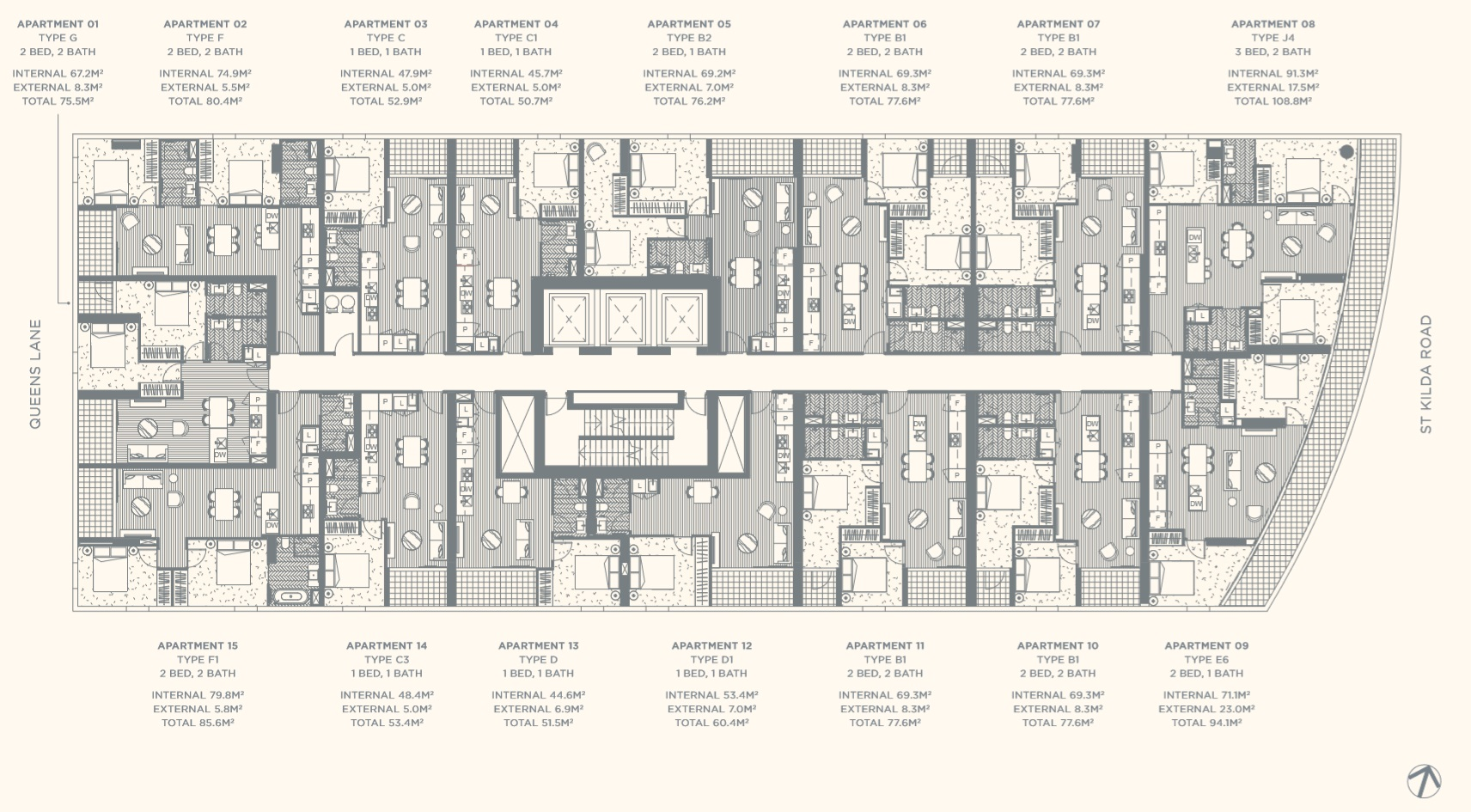Floor Plate Level 06