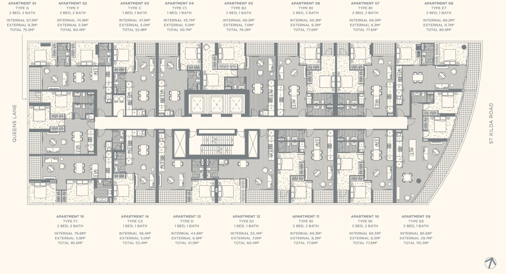 Floor Plate Level 07