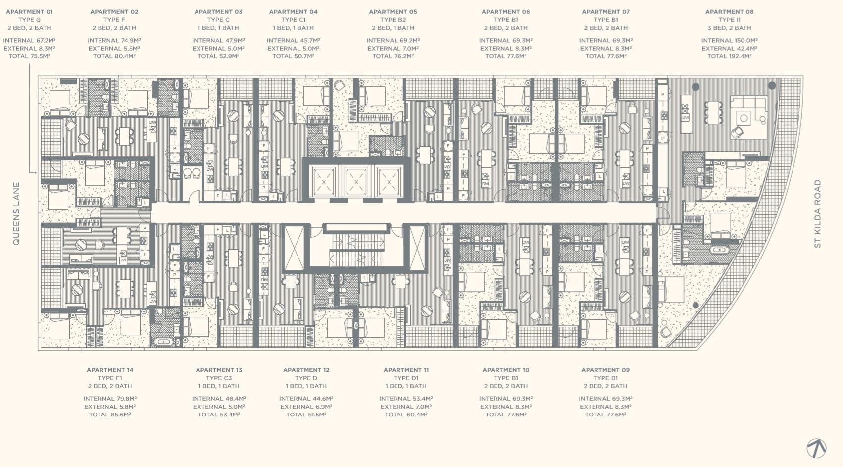 Floor Plate Level 08