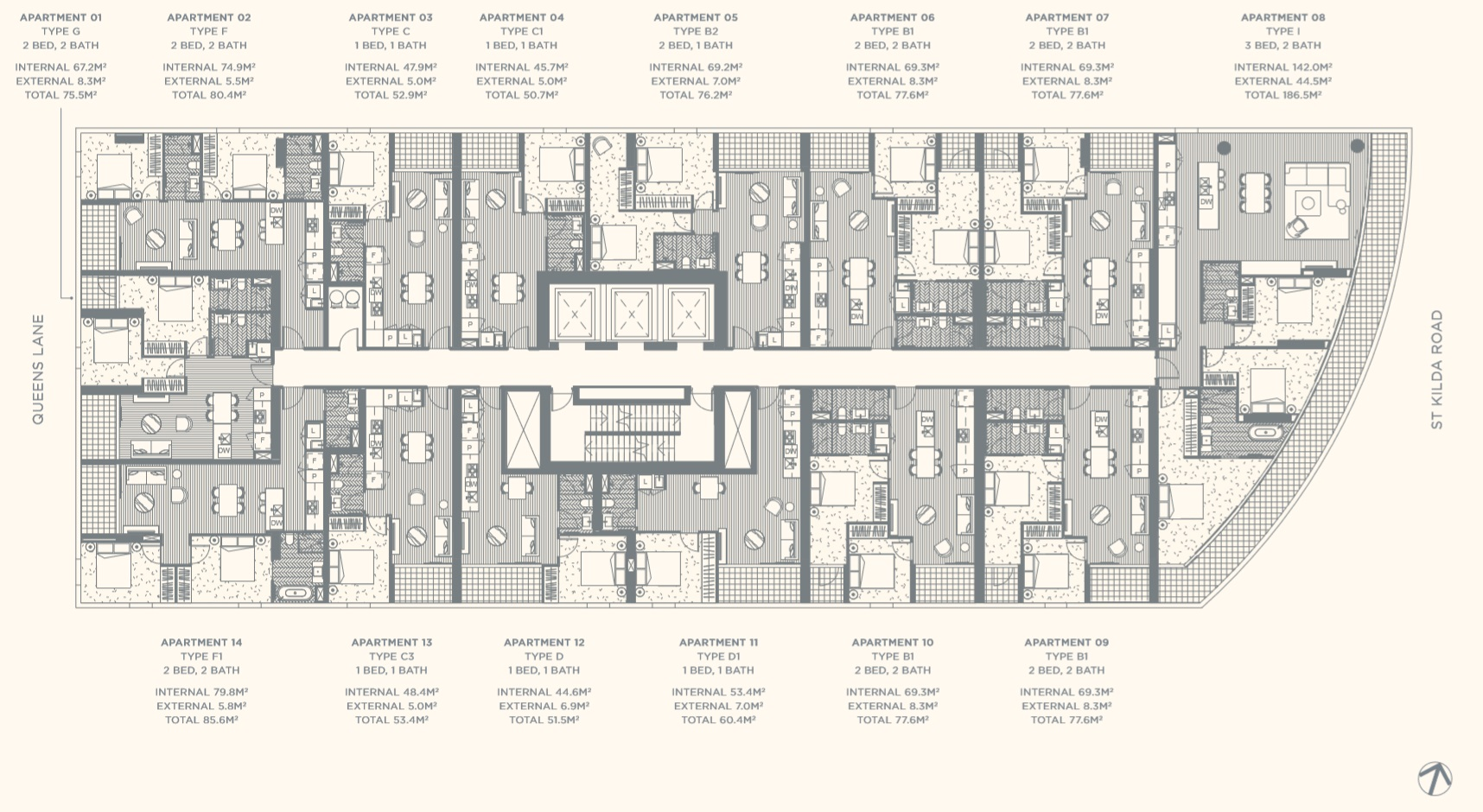 Floor Plate Level 09