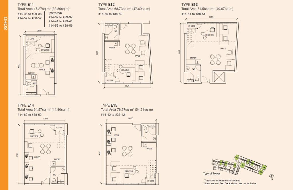 Floorplan - SOHO - Page 3