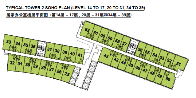 Siteplan - SOHO Tower