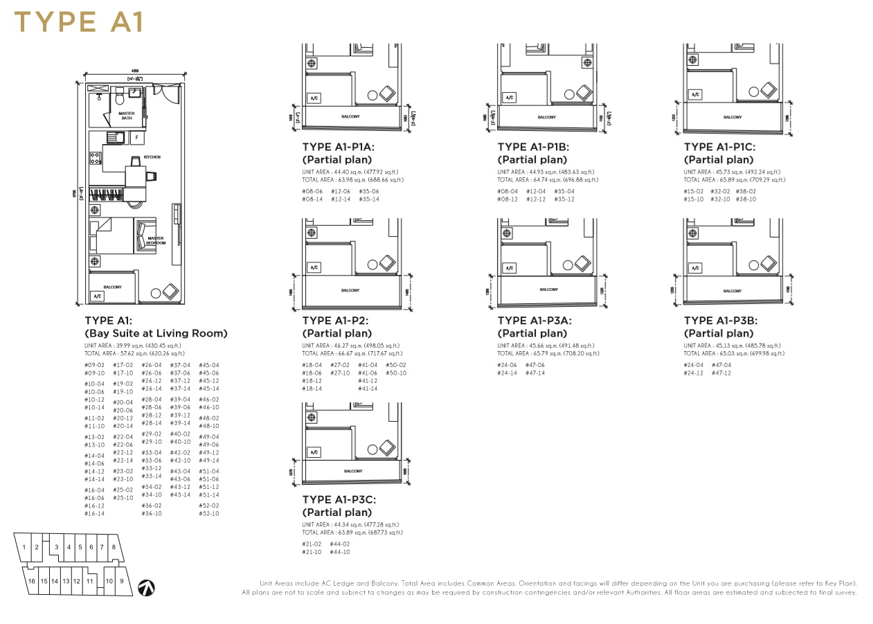 Floorplan Type A1