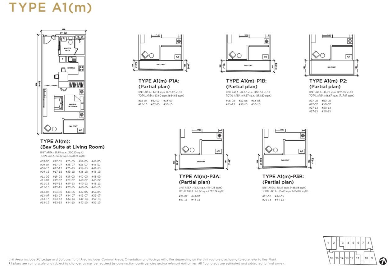 Floorplan Type A1(m)