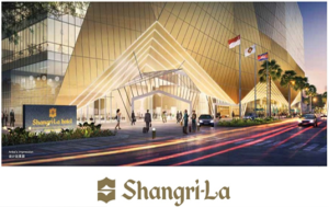 Shangri-La Hotel Below