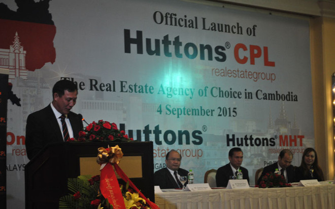 Huttons CEO Mr Goh Kee Nguan
