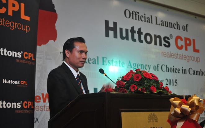 Managing Director Lok Ouknha CHENG Kheng of CPL