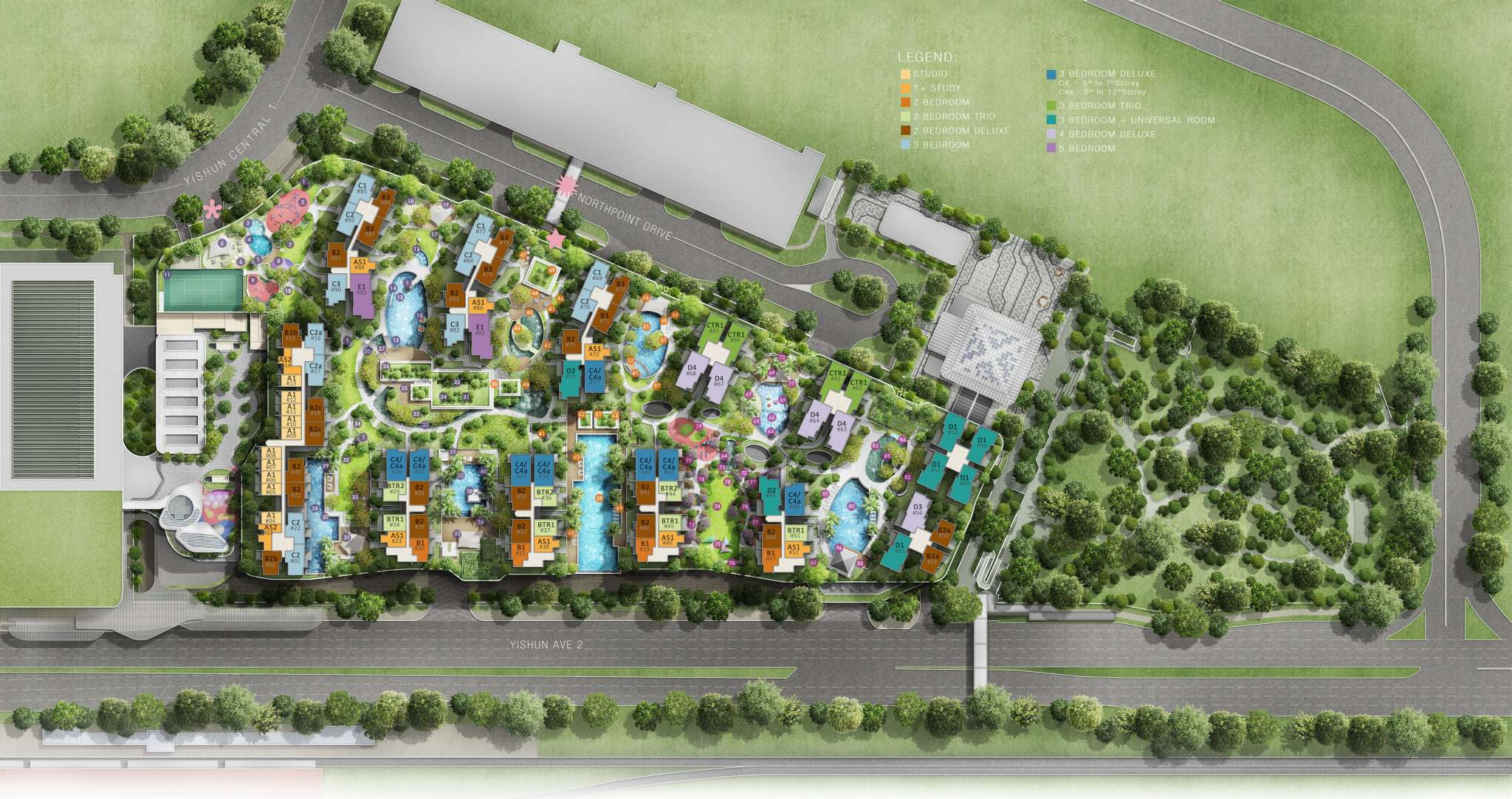 northpark-residences-site-plan