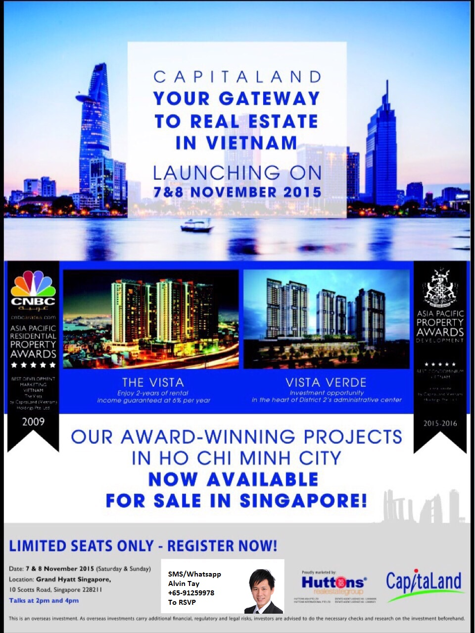 CapitaLand Hotel Launch