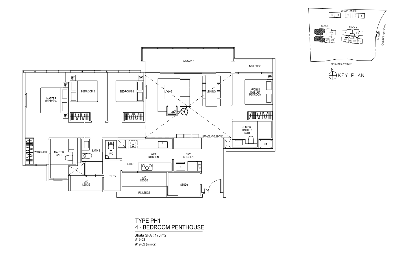 Type PH1 - 4 Bedroom PentHouse