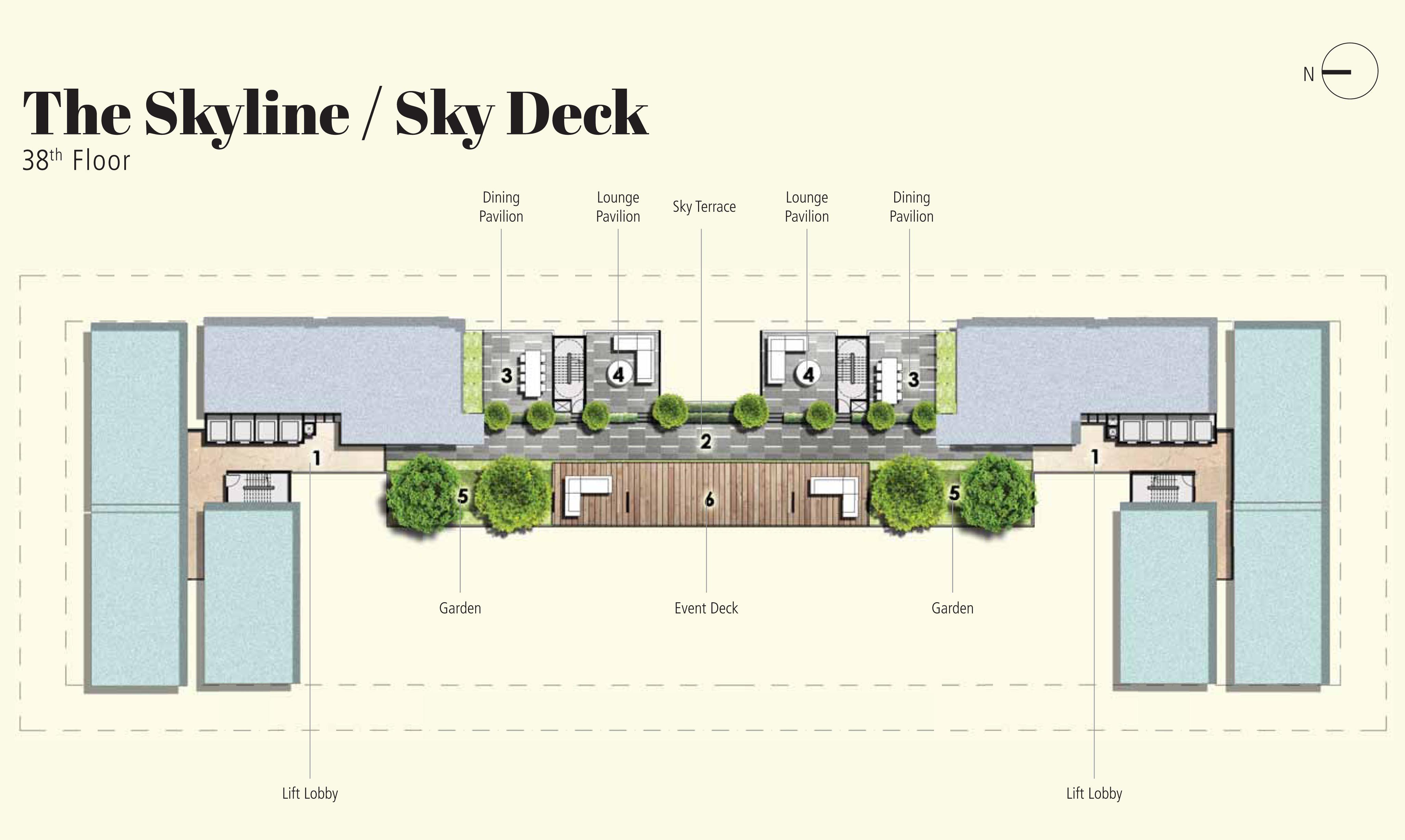 38th Floor plan