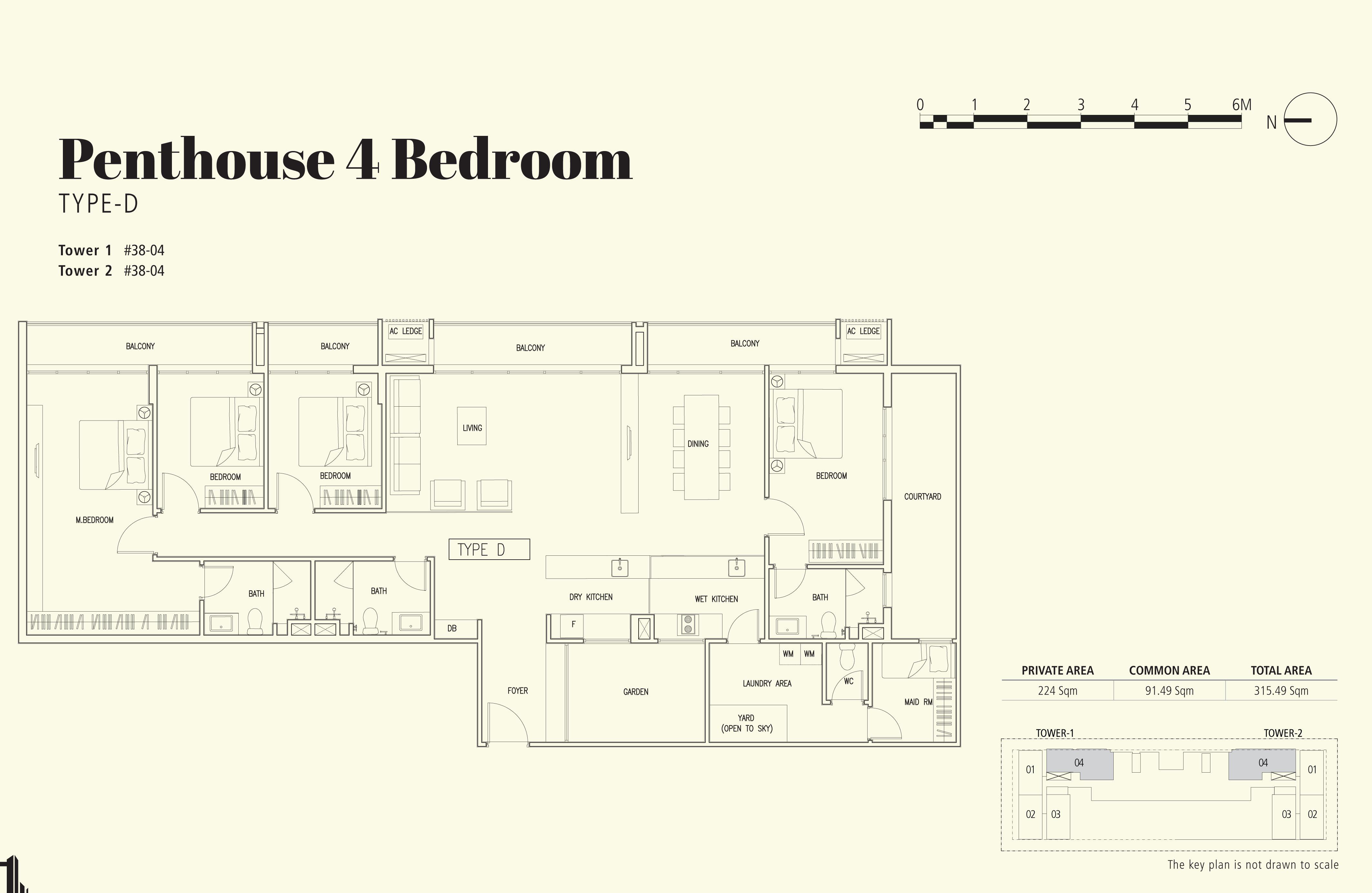 4 Bedroom - Type D