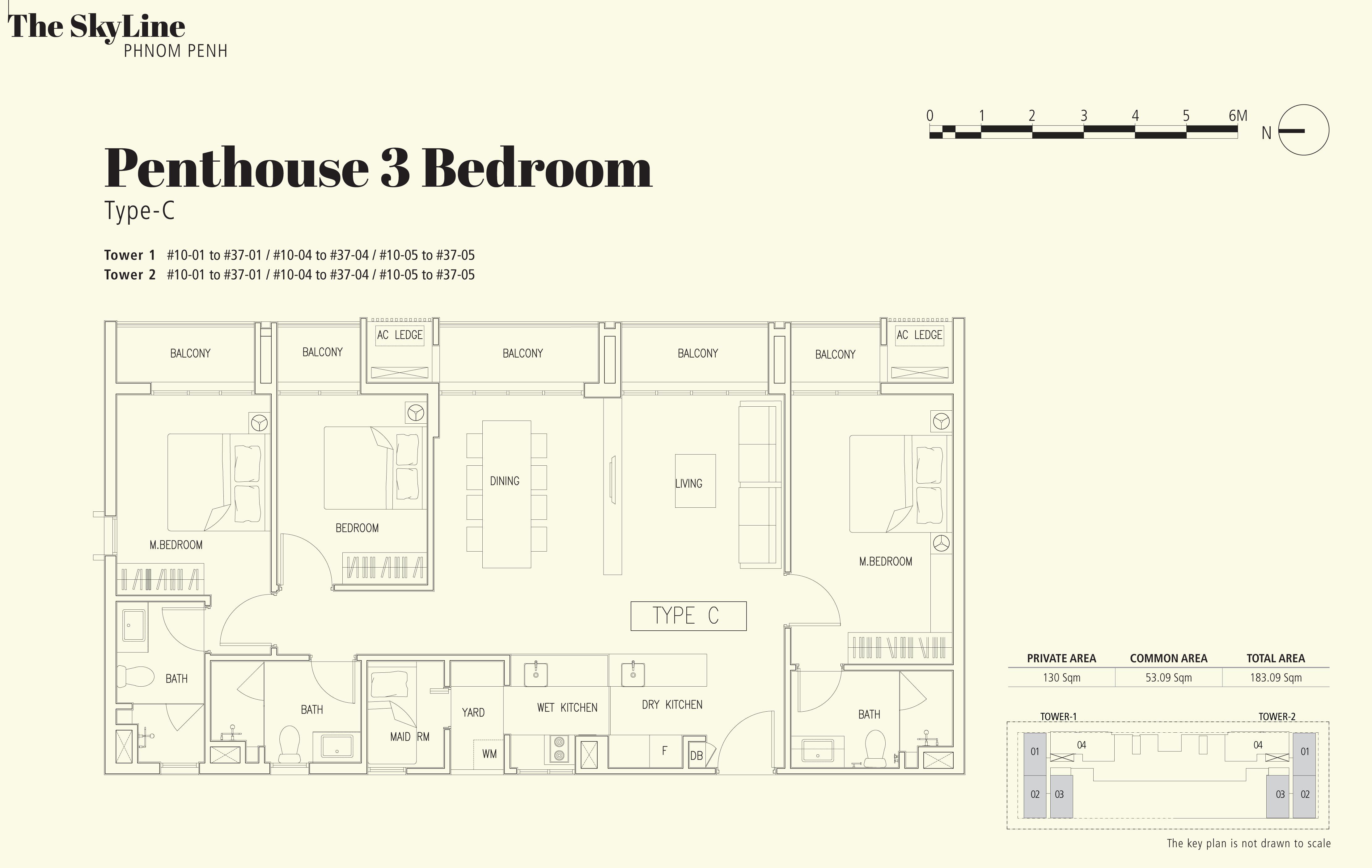 3 Bedroom - Type C