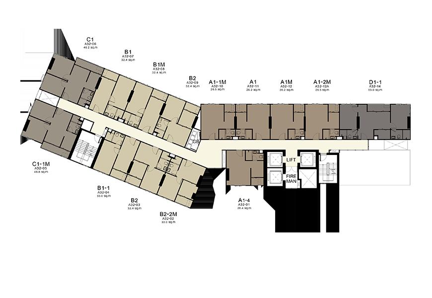 Building A - 32nd Floor