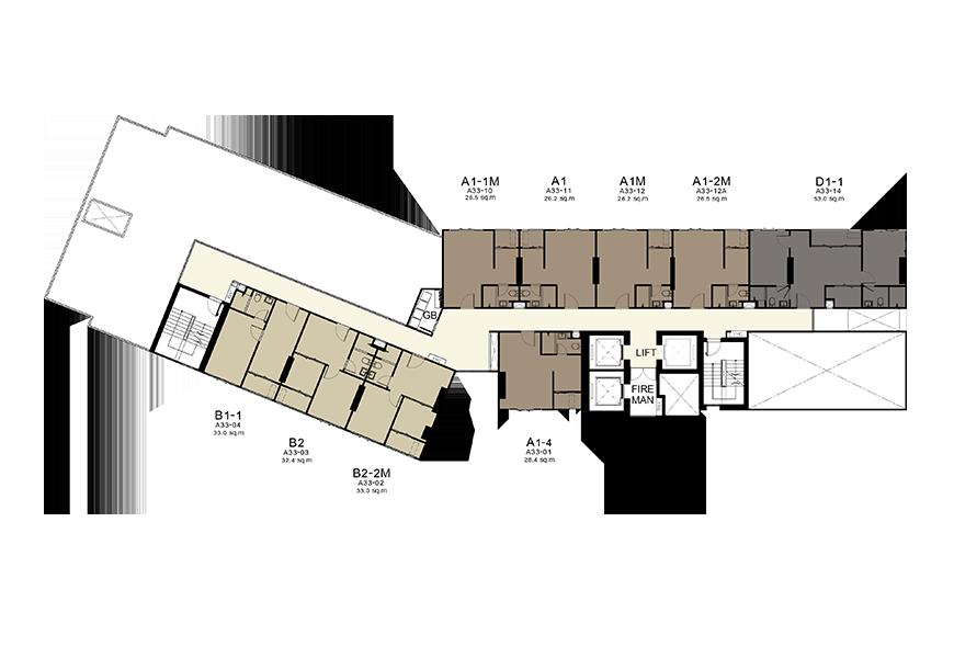 Building A - 33rd Floor
