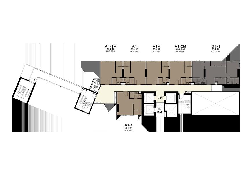 Building A - 34th Floor