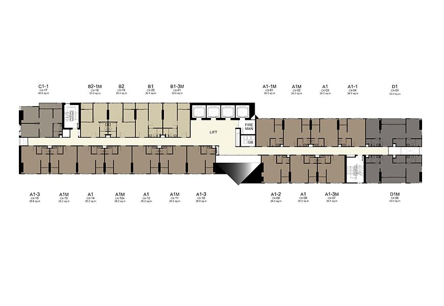 Building C - 8-30th Floor