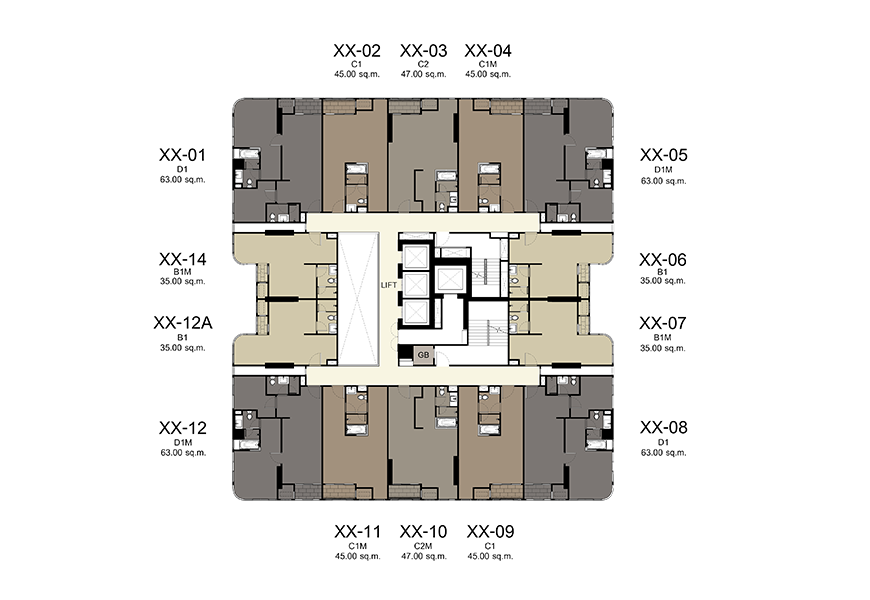 10th - 31st Floor