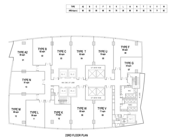 Floor Plan 23 Offices