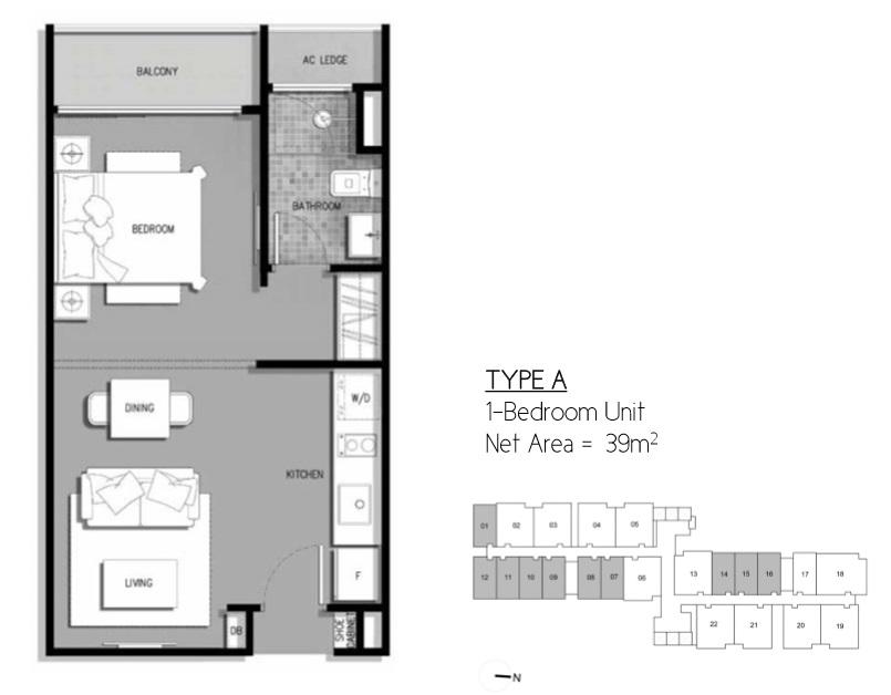 Floor Plan Type A Residential