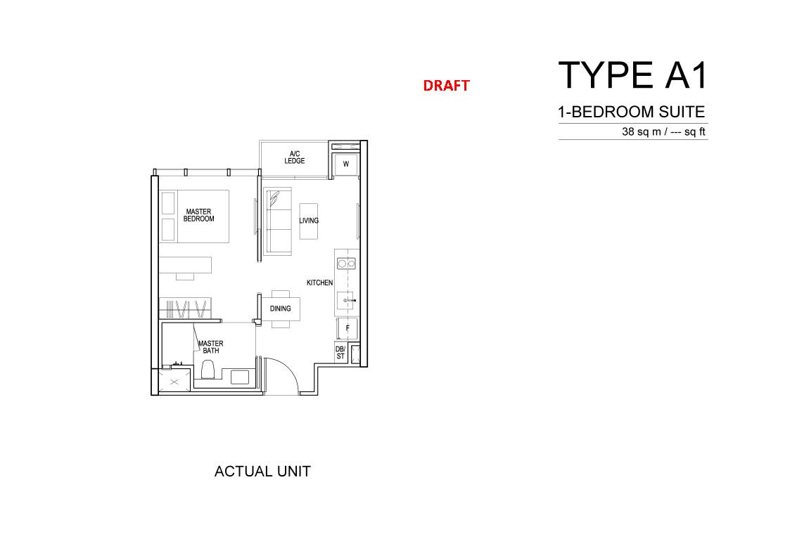 Sims urban oasis propertyfactsheet floor plans type a1 type a1 jameslax Images