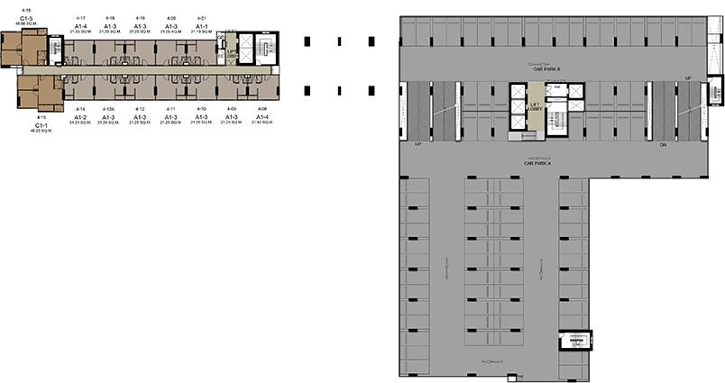 4th - 5th Floors