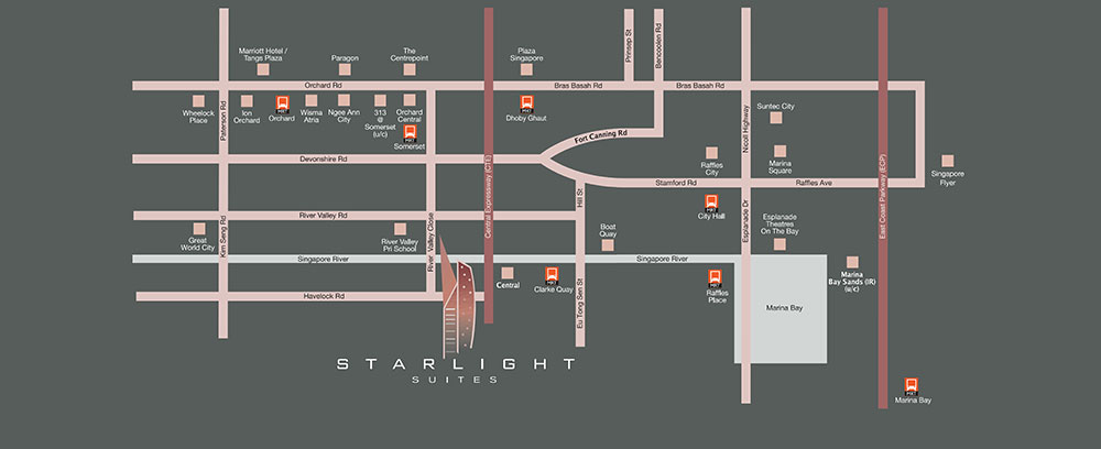 Starlight-Suites-Location-Map