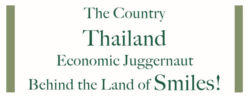 Economic Juggernaut