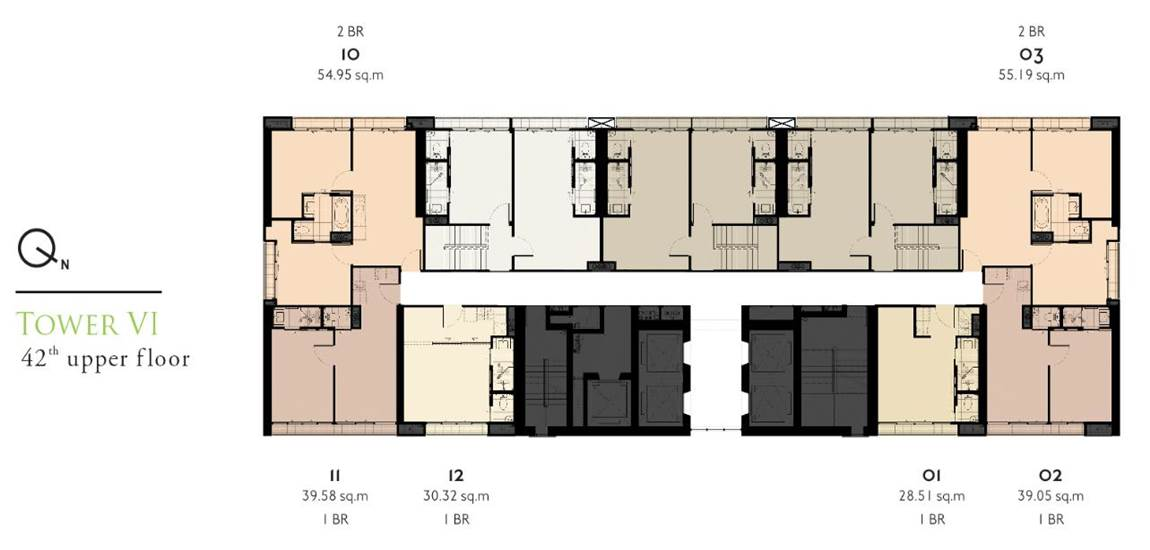 T6-41th-floor-plate