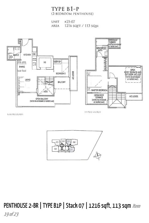 Penthouse 2 Bedroom